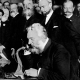 Before he invented the telephone, Alexander Graham Bell created a device that recorded sound using a dead man's ear