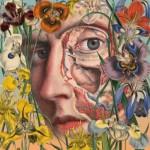 Juan Gatti Ciencias Naturales anatomical collage art painting