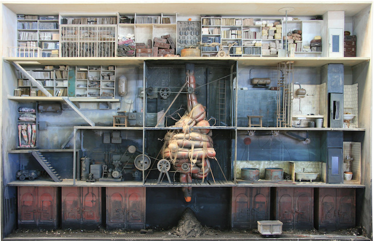 Demented dollhouses of Marc Giai-Miniet