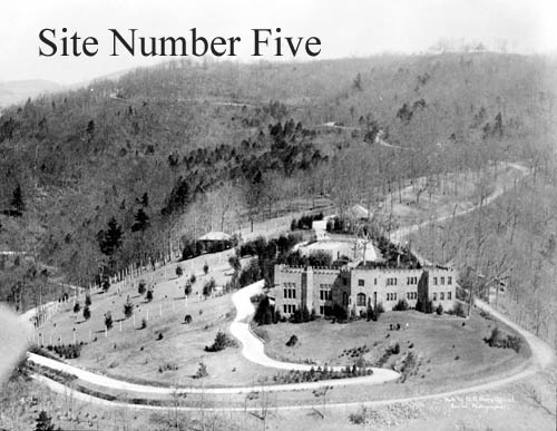 Seely Overlook castle as Biltmore college