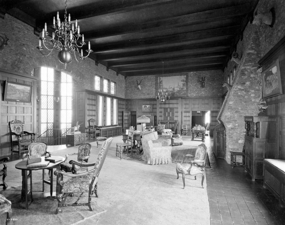 The Great Room in Seely's Castle