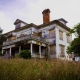 "The abandoned Flavel House in Astoria, Oregon, home of ""Hatchet"" Harry Flavel"