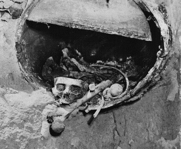 The remains of Big Nose George Parrott discovered in 1950