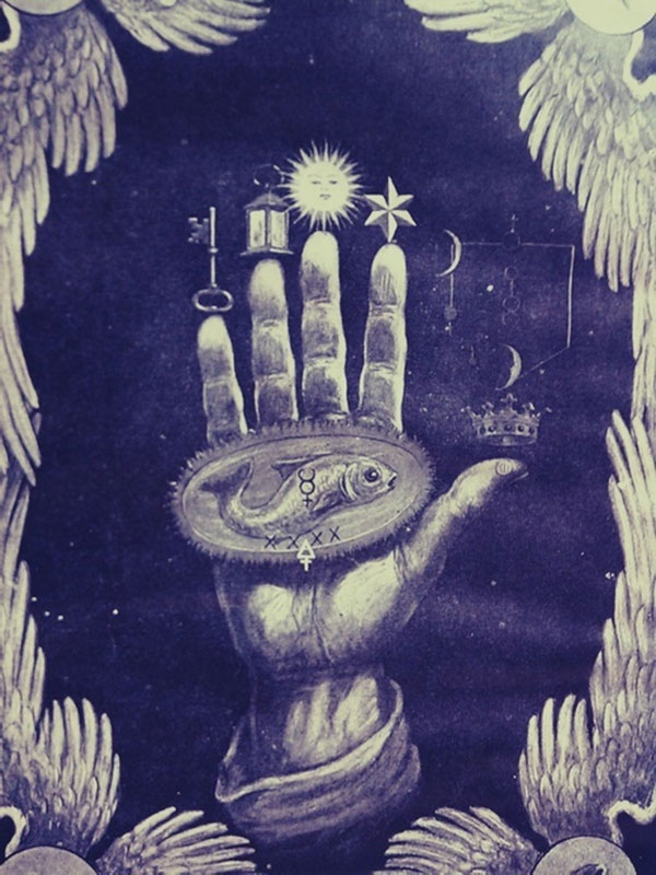 Hand Of The Mysteries Alchemy Symbol Of Transformation