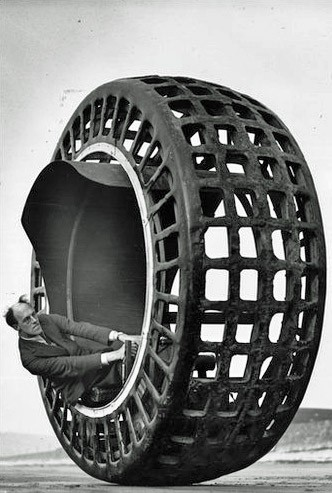 Dynasphere monowheel electric vehicle 1932