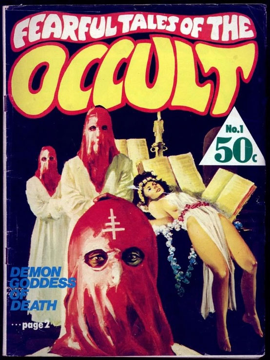 Fearful Tales of the Occult magazine