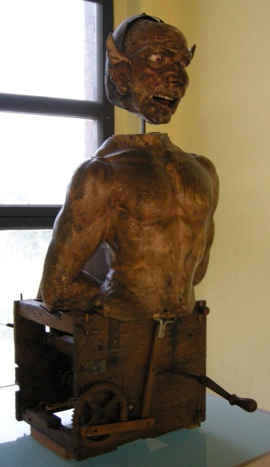 15th century Devil automaton