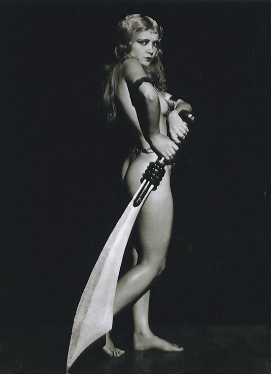 Anita Page risque vintage photo for the Ziegfeld Follies