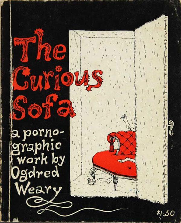 The Curious Sofa by Edward Gorey