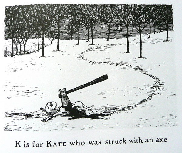Edward Gorey - K is for Kate