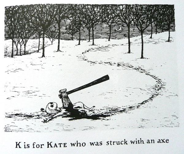 Edward Gorey - K is for Kate