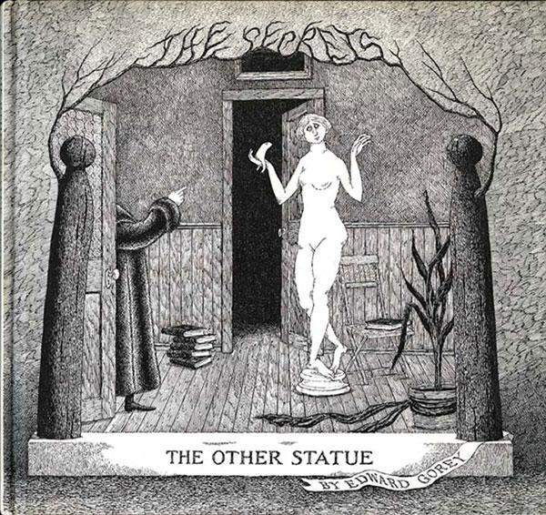 Edward Gorey - Other Statue