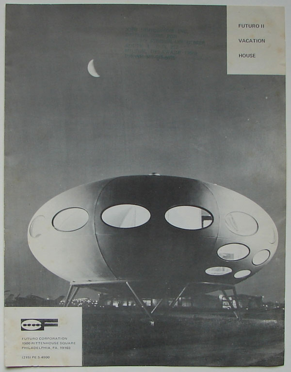 Futuro UFO flying saucer house