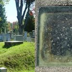Grave with a window