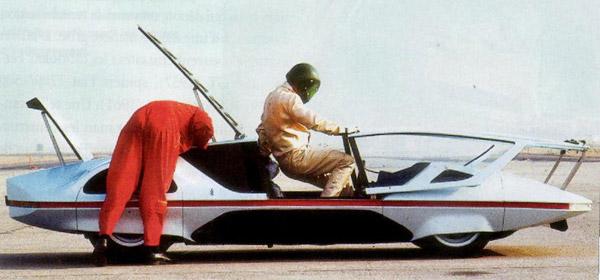 Test driving the Ferrari Modulo