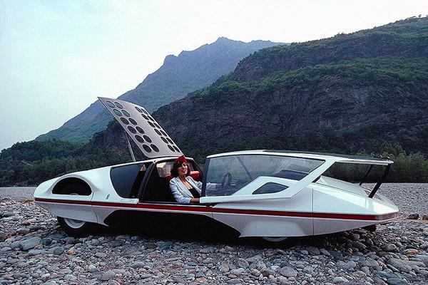 Ferrari Modulo concept car by Pininfarina