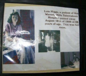 Waverly Hills patient Lois Higgs