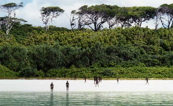 The forbidden North Sentinel Island