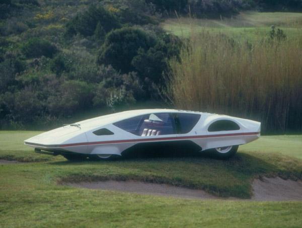 1970 Ferrari 512 S Modulo concept car designed by Pininfarina