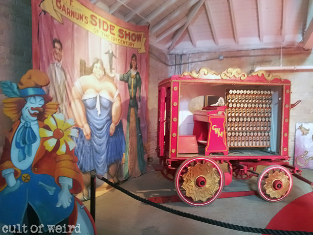 Circus World museum in Baraboo, WI
