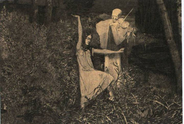 August Bromse - Dance from the Girl and Death series