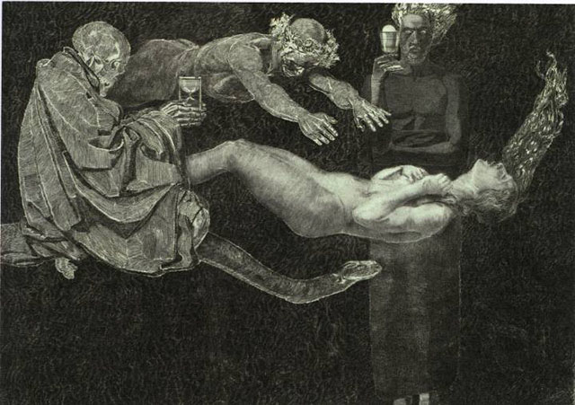 August Bromse - Life Escaping from the Girl and Death series