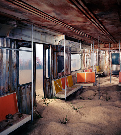 End of the World dioramas by Lori Nix