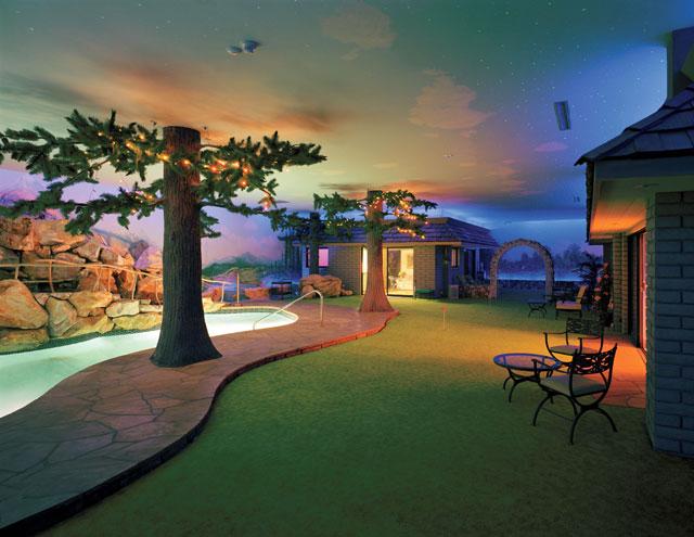 Underground bunker home in Las Vegas