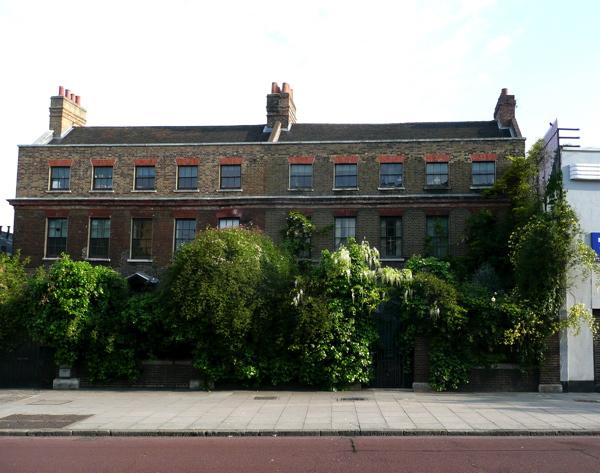 Malplaquet House in East London