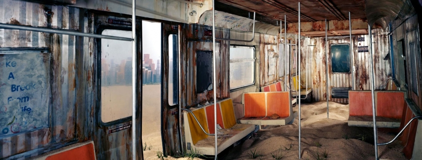 Post-apocalyptic dioramas by Lori Nix
