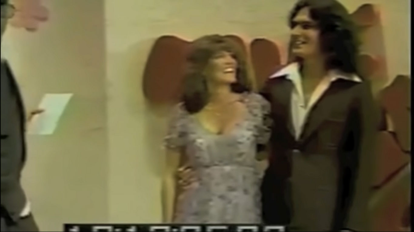 Eligible bachelor and serial killer Rodney Alcala with Cheryl Bradshaw on The Dating Game