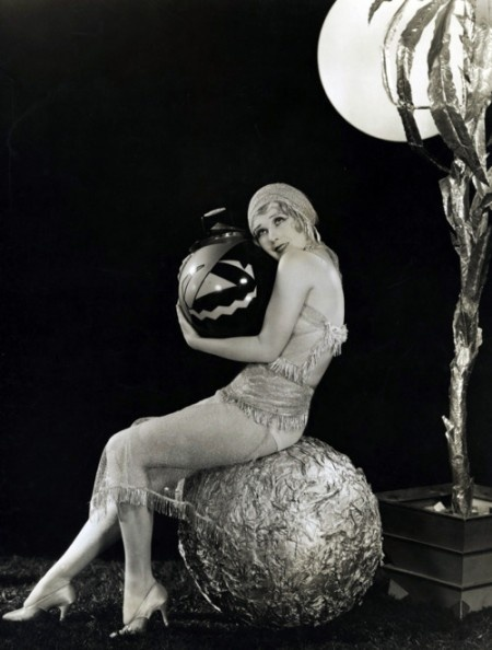 Anita Page 1920s vintage Halloween pinup