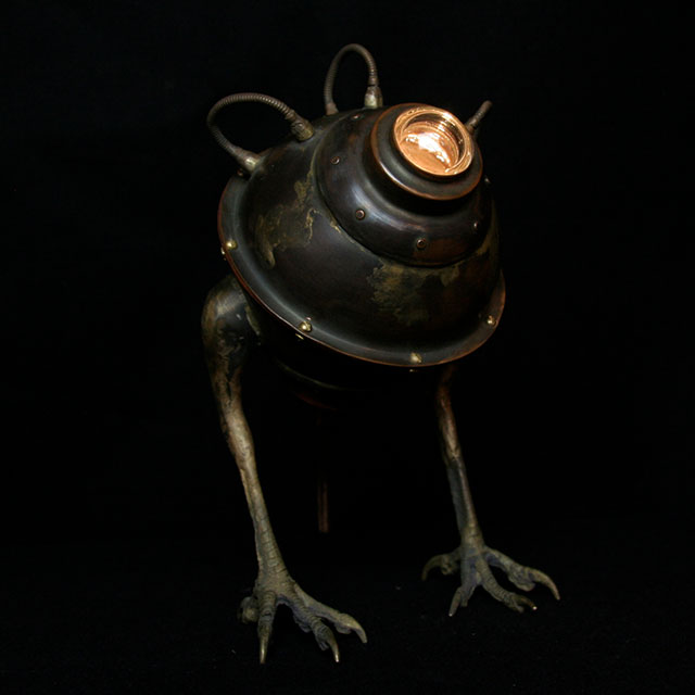 Diving Bell lamp by Evan Chambers