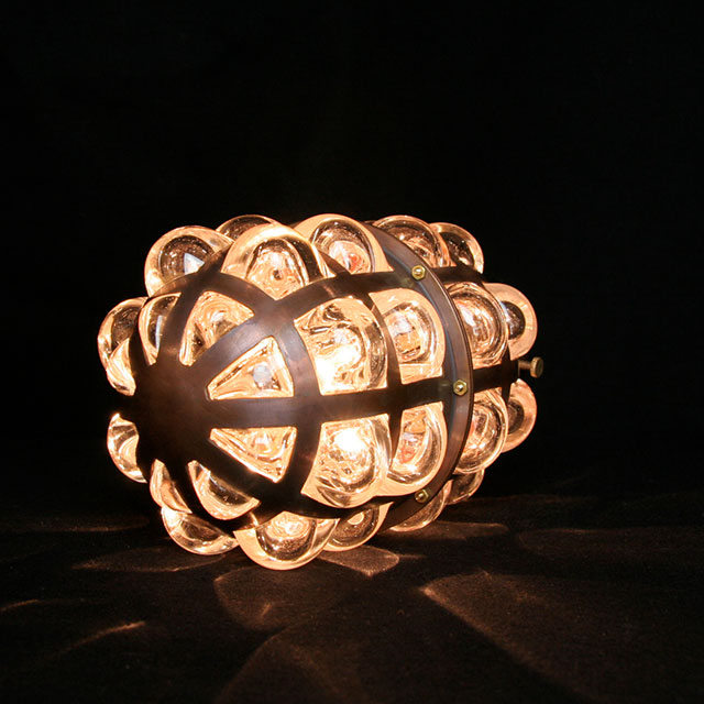 Pendant Pill lamp by Evan Chambers