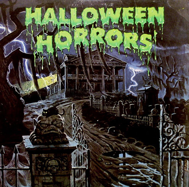 Halloween Horrors album cover art 1977