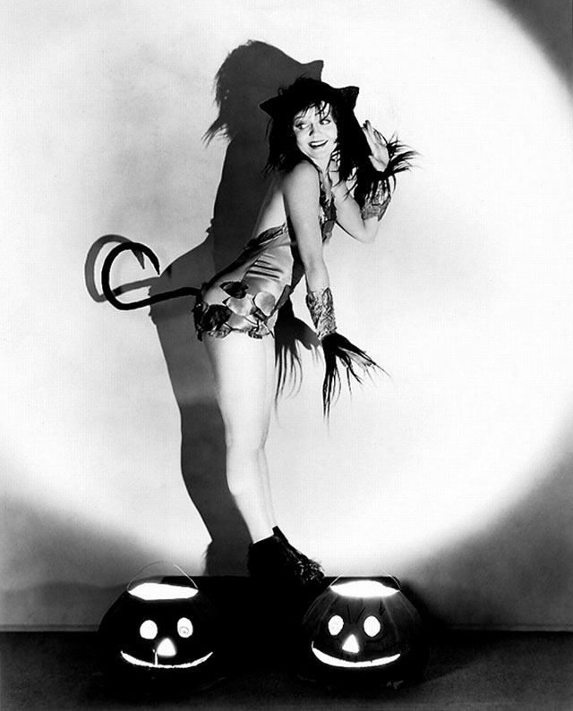 Nancy Carroll vintage Halloween pinup