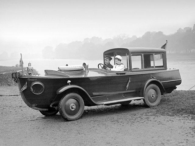 Peugeot motor-boat car 1926