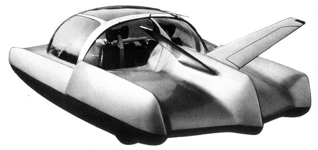 Simca Fulgur concept car 1958