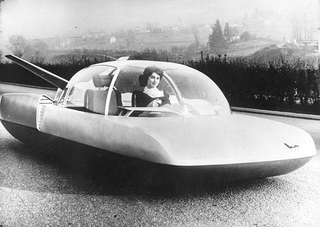 Simca Fulgur 1958 concept car