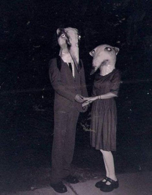 Weird and funny vintage Halloween costumes