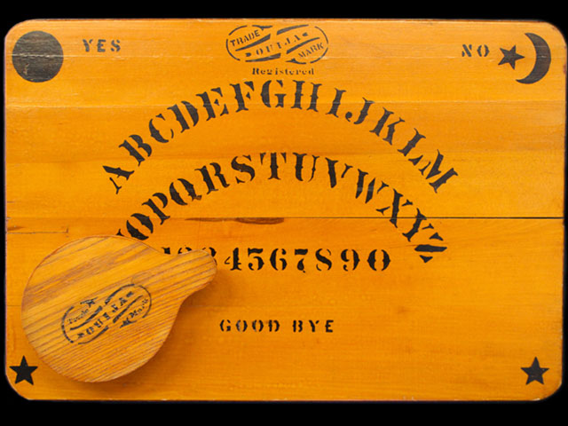 A vintage William Fuld Ouija Board