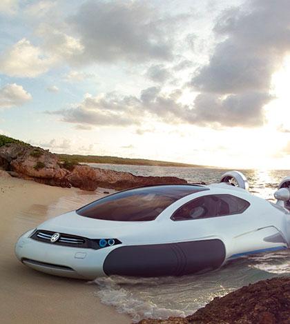 volkswagen aqua hovercraft concept car
