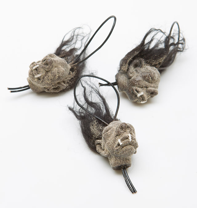 Mini shrunken heads from The Evolution Store