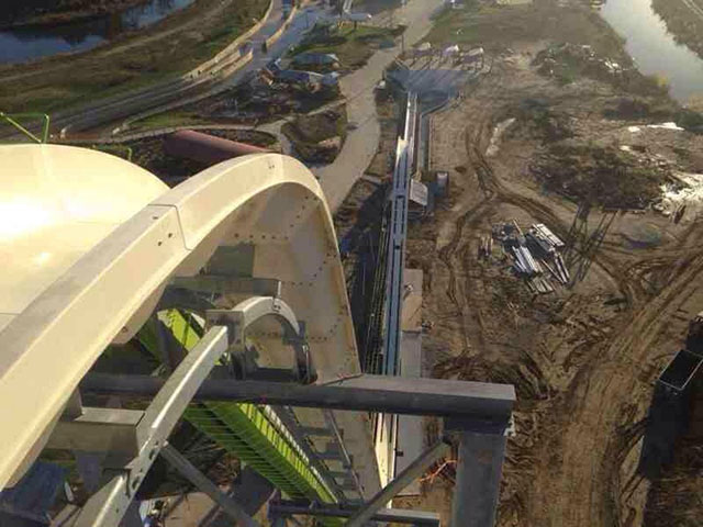World's tallest water slide in Kansas City, Kansas set to open in 2014