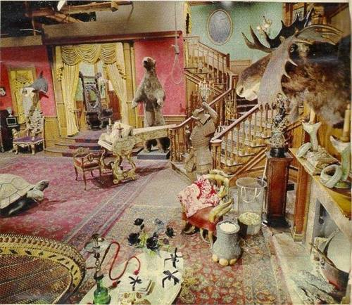 Addams Family set color photo