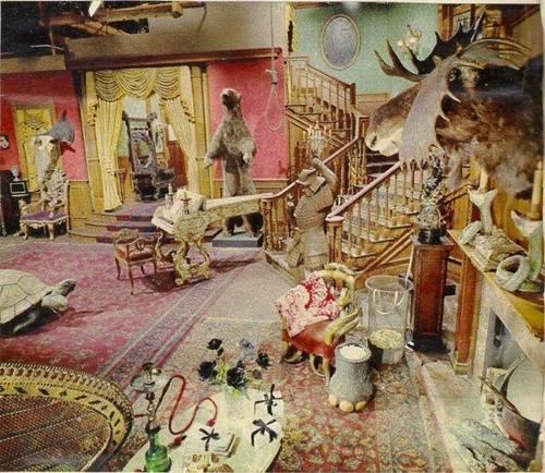 Addams Family set color photo