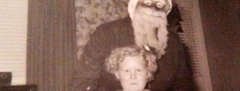 Creepy Santa photos