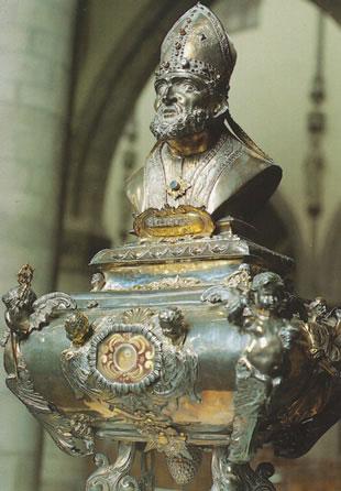 St. Nicholas reliquary in Belgium