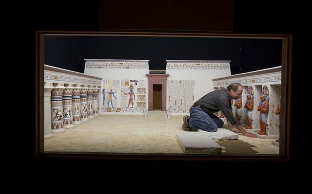 Behind the scenes of the upcoming ancient civilizations exhibit at the Milwaukee Public Museum
