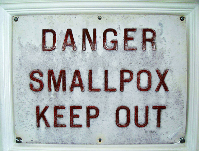 Smallbox warning sign